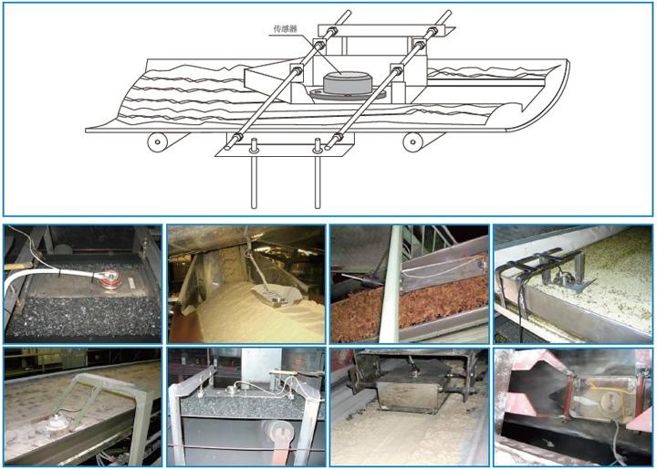 德国MuTec在线固体水分仪皮带输送机上的应用