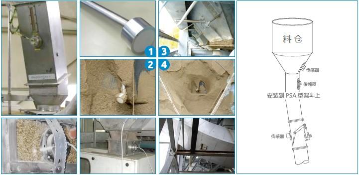德国MuTec在线固体水分仪管道输送与料仓上的应用