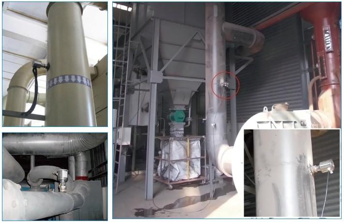 德国MuTec颗粒物排放在线粉尘检测仪现场应用