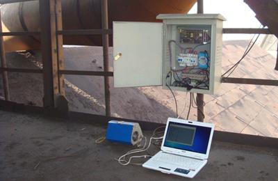 DUMO环境粉尘仪钢厂高炉顶部逸散性粉尘检测