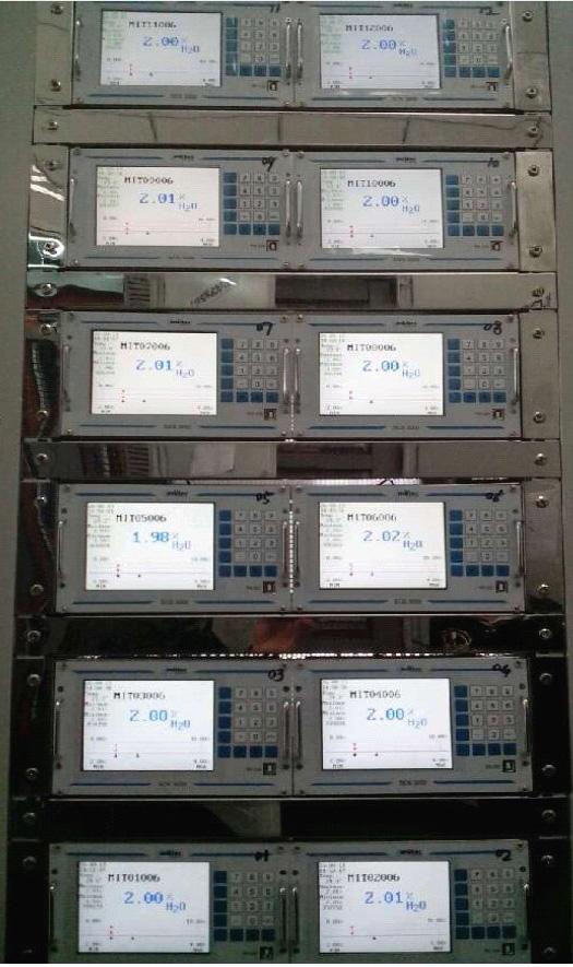 德国mutec在线水分测量仪螺旋给料机应用主机部分